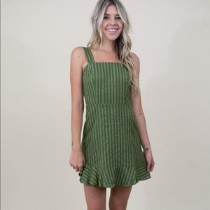 SAGE the Label Green Dress